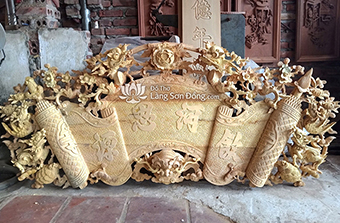 Tại sao đồ thờ gỗ mít thường được ưa chuộng - đồ thờ Sơn Đồng