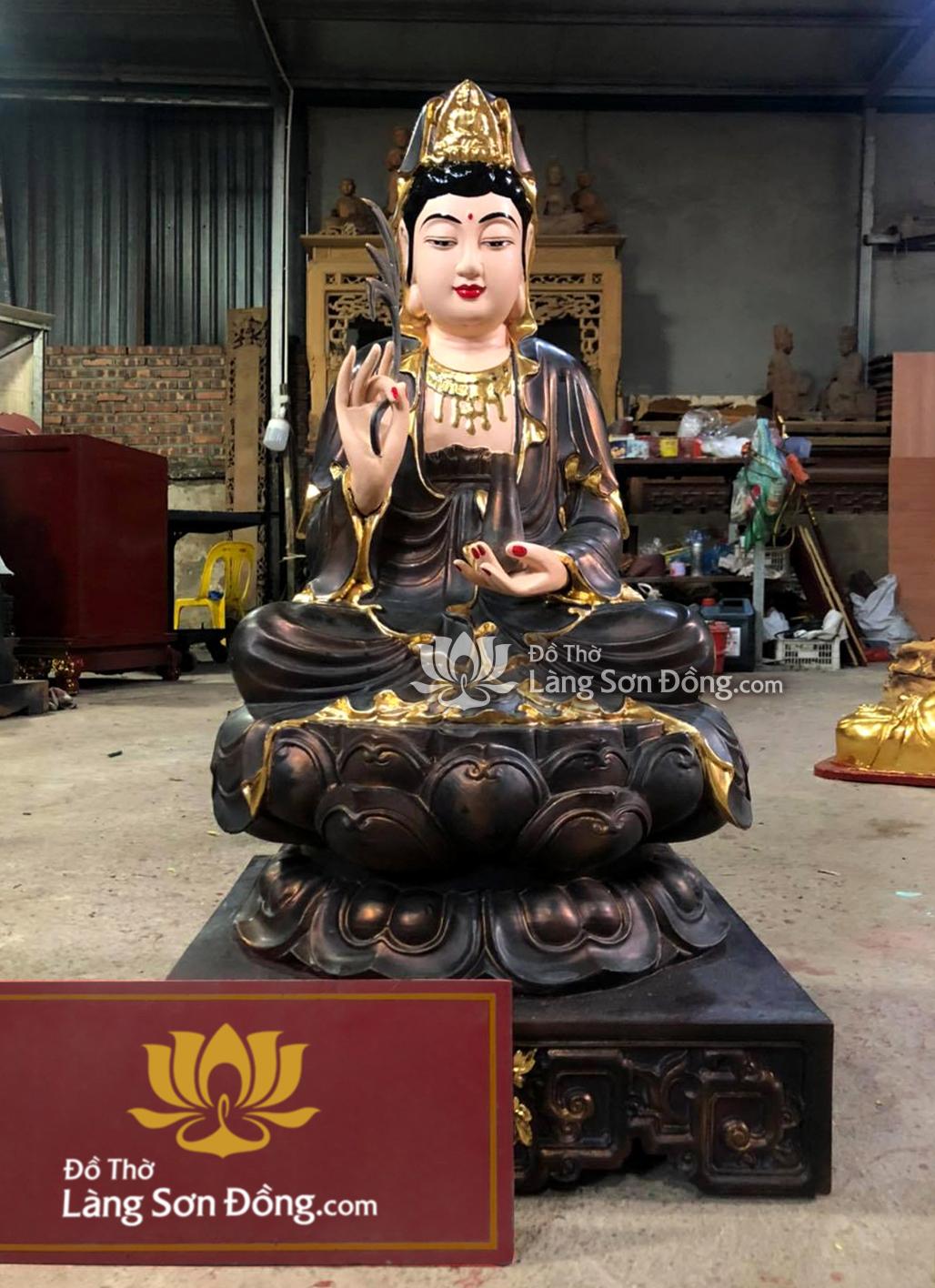 Phật quan âm bồ tát theo lối cổ